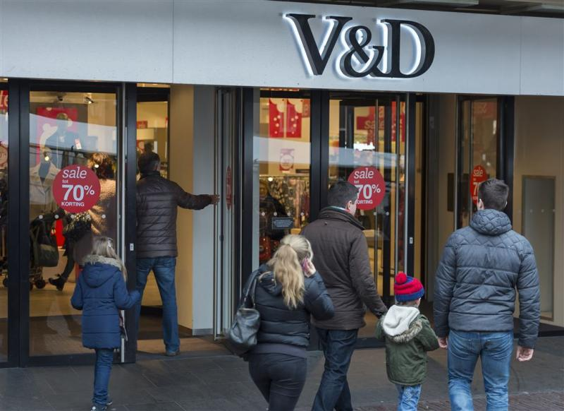 'Bankroet V&D drukt stemming consumenten'