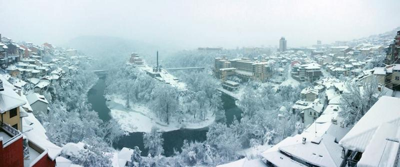 Sneeuwpanorama in Bulgarije (Foto: Dven)
