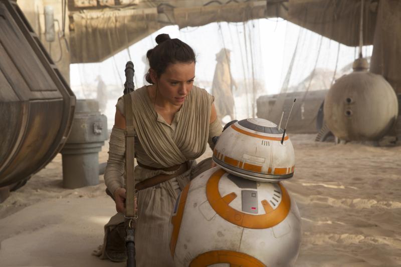 Star Wars: Rey en BB-8