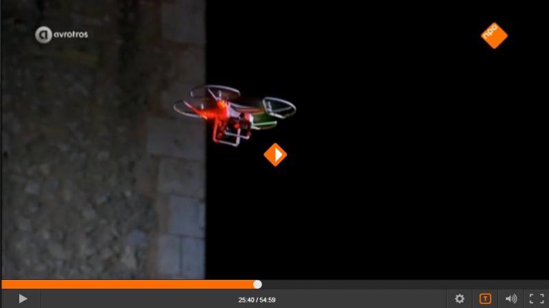 Wie is de Mol? 2016 - Aflevering 3: opdracht 2, drone