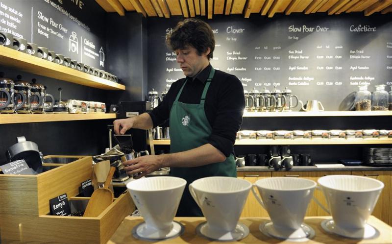 Ruimer menu stuwt omzet Starbucks