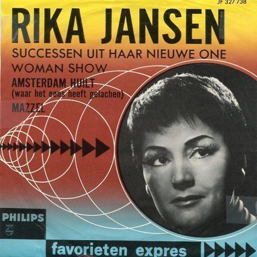 Rika Jansen – Amsterdam Huilt (1964)