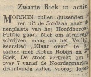 Uit De Waarheid van 23 mei 1956