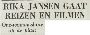 Uit het Utrechts Dagblad van 8 november 1962 1