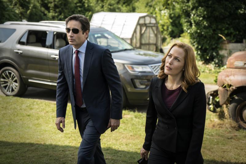 The X-Files: Gillian Anderson en David Duchovny (Foto: undefined)