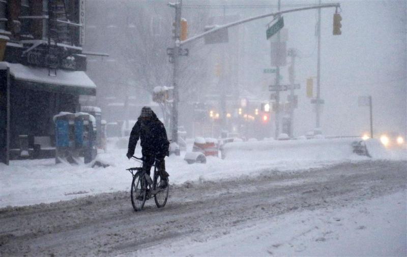 Noodtoestand in New York door sneeuwstorm