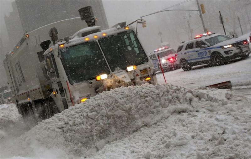 New Yorkers mogen de weg weer op