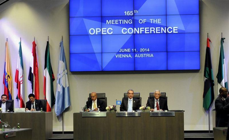 Olieproductie OPEC naar record