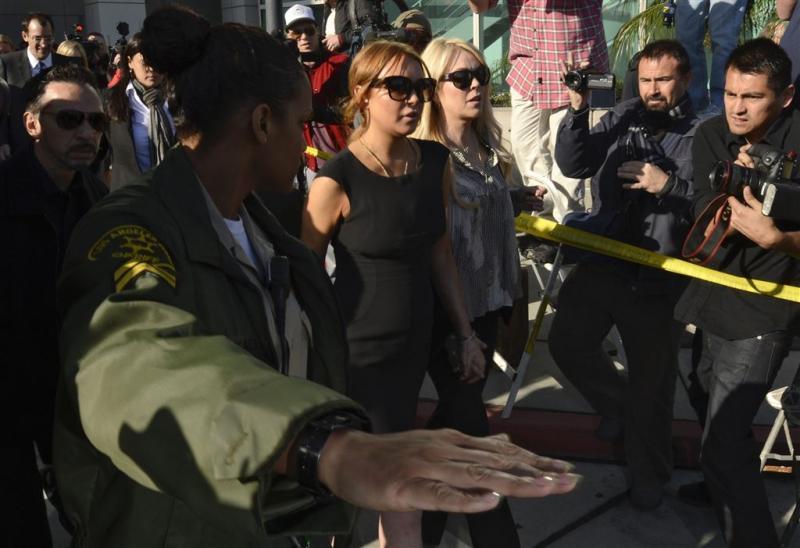 Lindsay Lohan is 'klaar' met moeder Dina