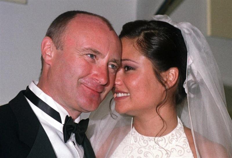 Phil Collins terug bij ex-vrouw