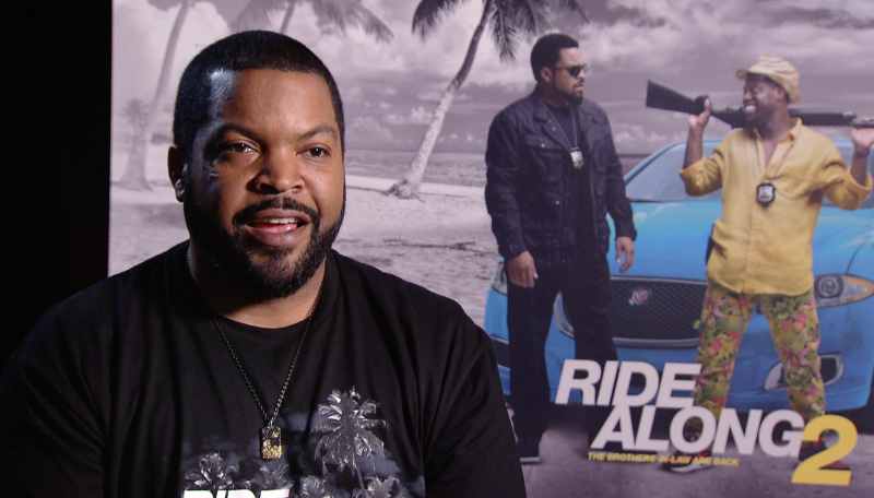Ice Cube in interview voor Ride Along 2