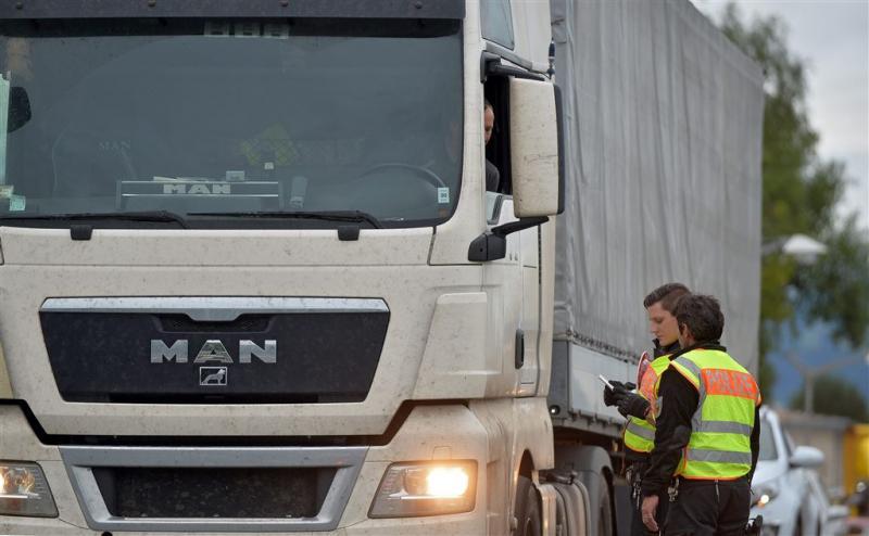 Bergen op Zoom jaagt overlast gevende chauffeurs weg (Foto: ANP)