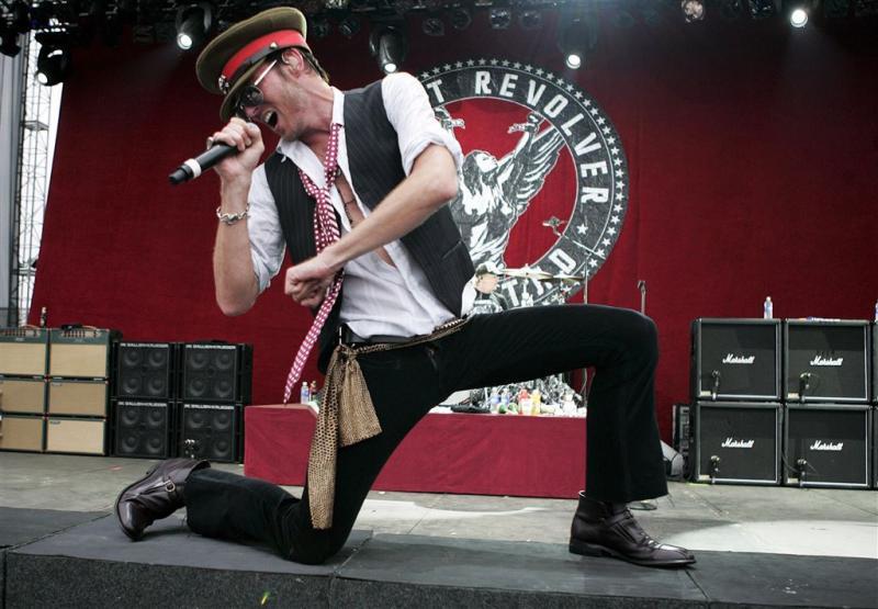 Ex schopt stennis om gitaar Scott Weiland