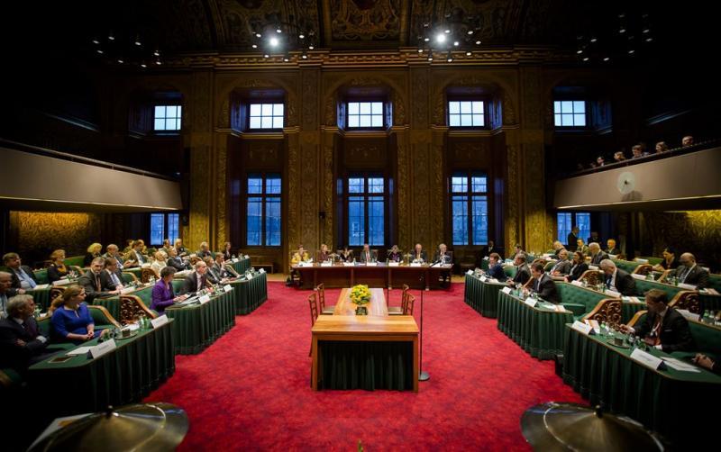 Senaat stemt voor onderzoek naar parlement