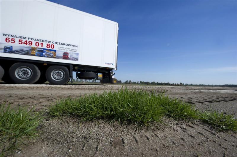 Vracht vaker met Poolse truck de grens over