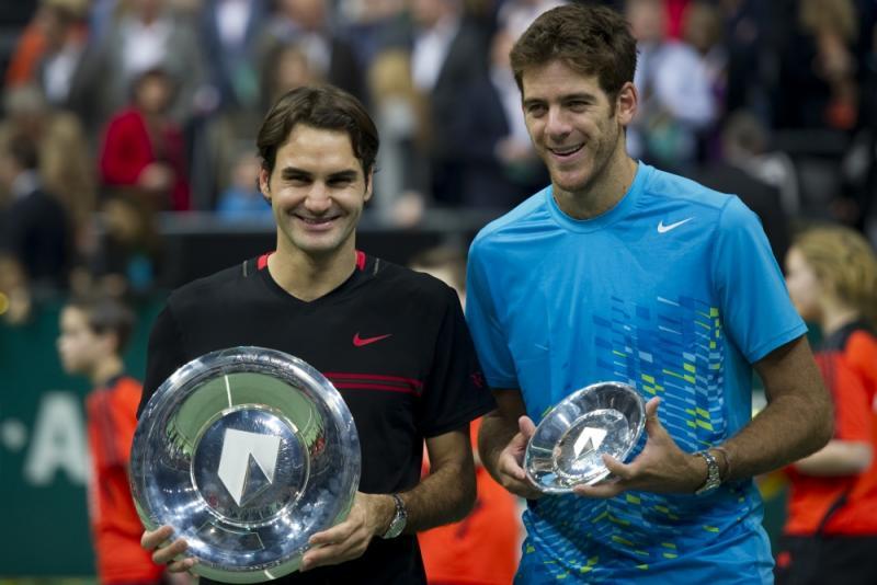 Federer won het toernooi in 2005 en 2012, toen hij Juan Martin Del Potro versloeg (PROSHOTS/Willem Vernes)