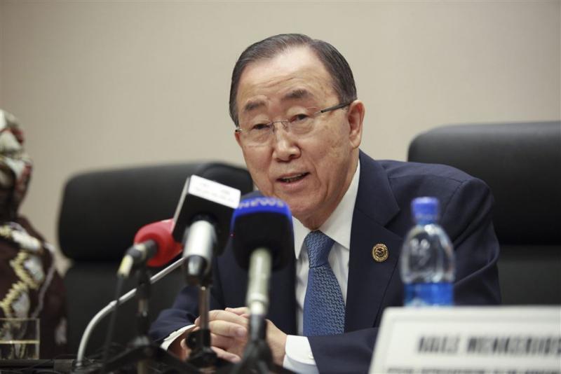 Ban Ki-moon gispt Noord-Korea