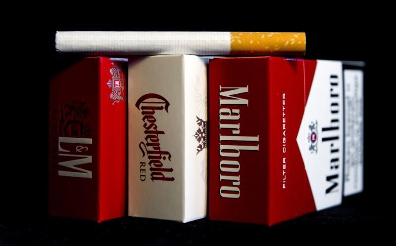 Sigaretten Philip Morris iets minder in trek