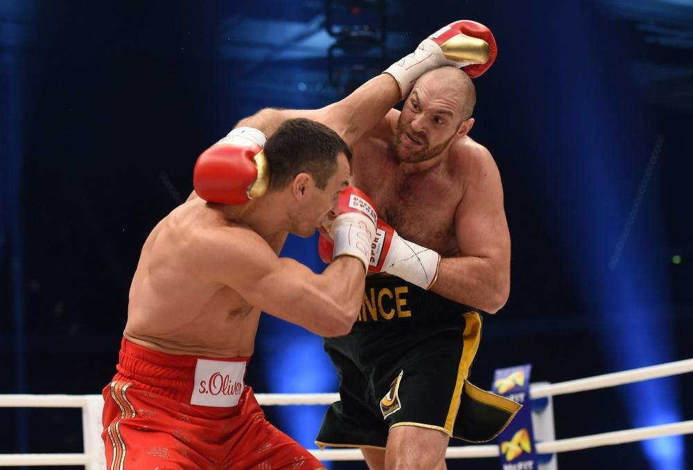 Sjeiks willen boksduel Fury-Klitschko voor 120 miljoen op jacht (Pro Shots / Witters)