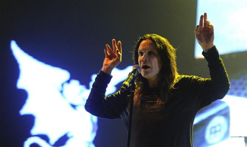 Ozzy Osbourne weer op het podium