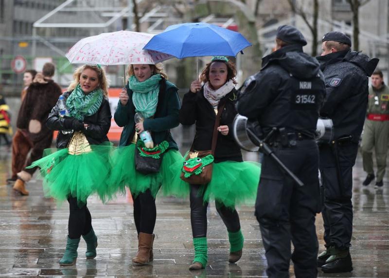 Meer aangiftes seksueel geweld Keuls carnaval