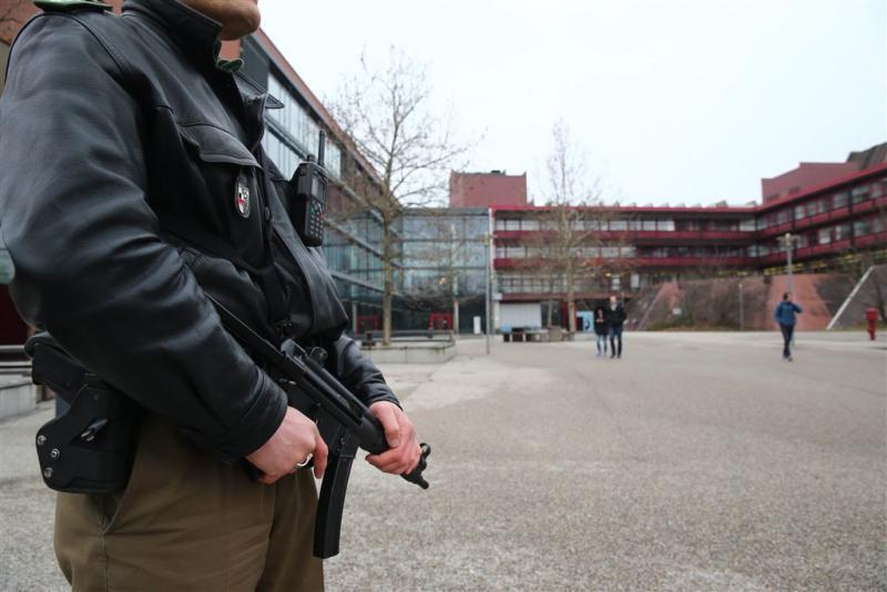 Duizend Duitse studenten op straat