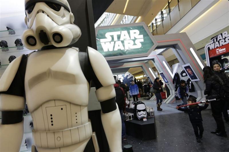 Star Wars brengt 2 miljard dollar op