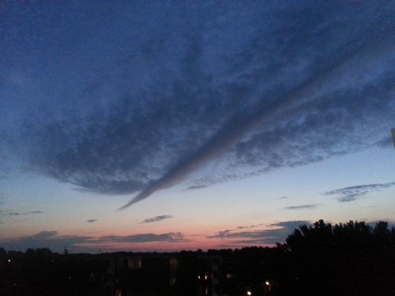 Lucht in vogelvlucht (Foto: Papabear)