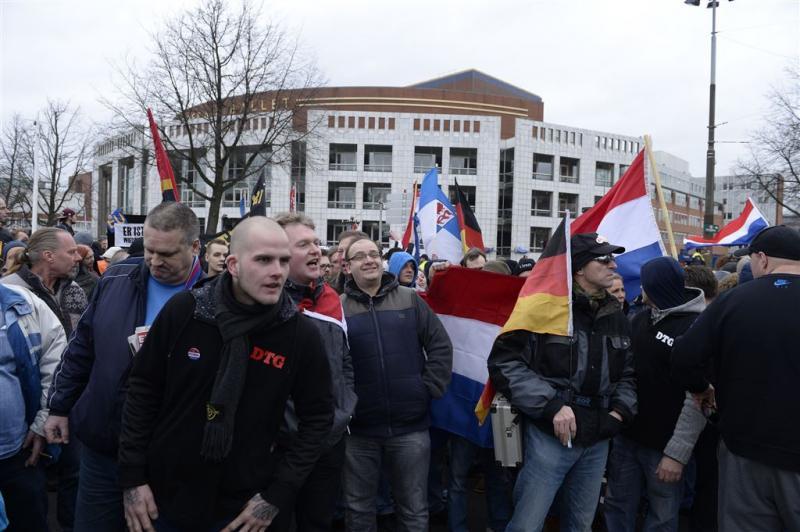 Burgemeester beëindigt demonstratie Pegida
