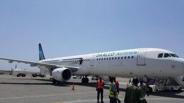 Somalië: bom oorzaak explosie in vliegtuig