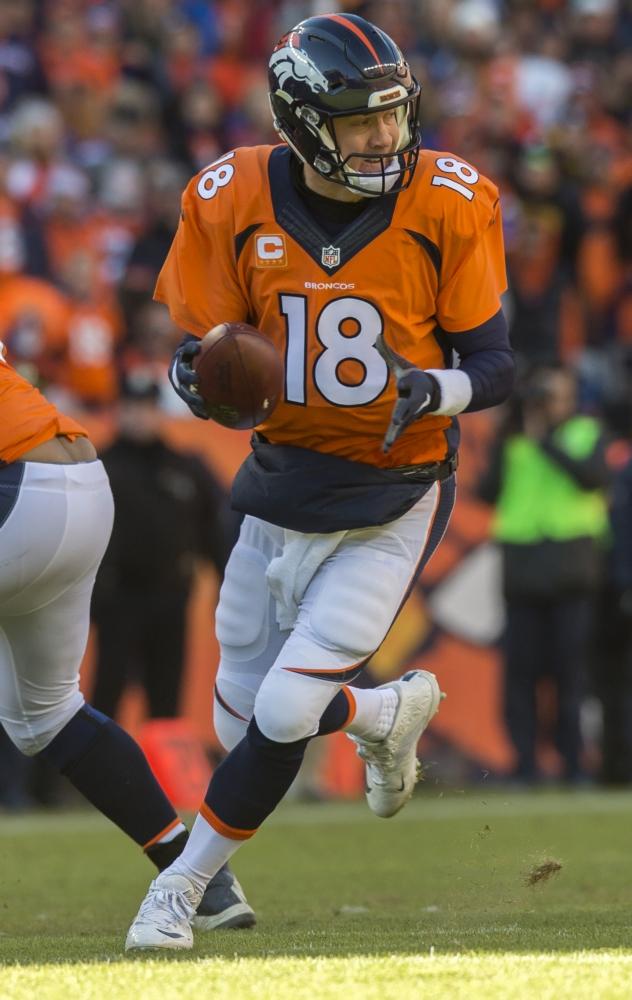 Super Bowl 50 belooft een duel te worden tussen quarterback Peyton Manning van de Denver Broncos...(PRO SHOTS/Zuma Sports Wire)