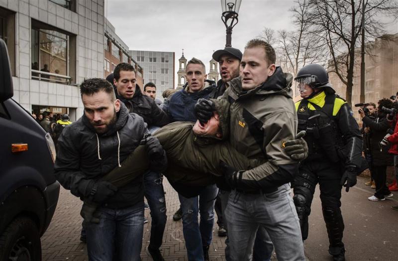 Arrestanten Pegida-demonstratie weer vrij