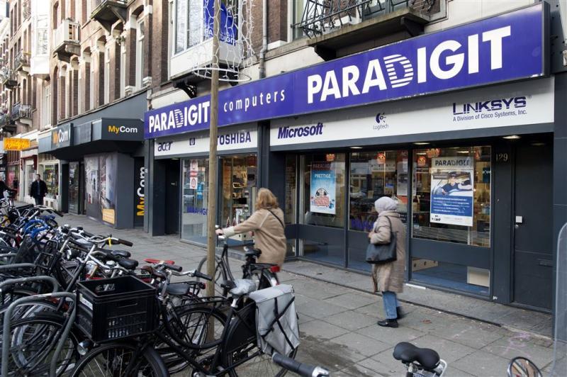 Computerwinkelketen Paradigit failliet