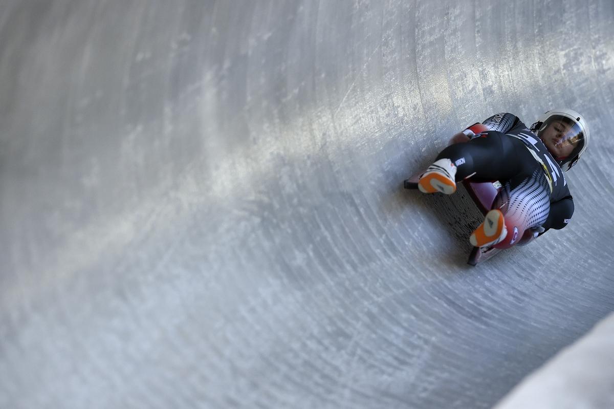 Brooke Apshkrum op weg naar verrassend jeugdolympisch goud in Lillehammer (Foto: YIS/Jon Buckle)