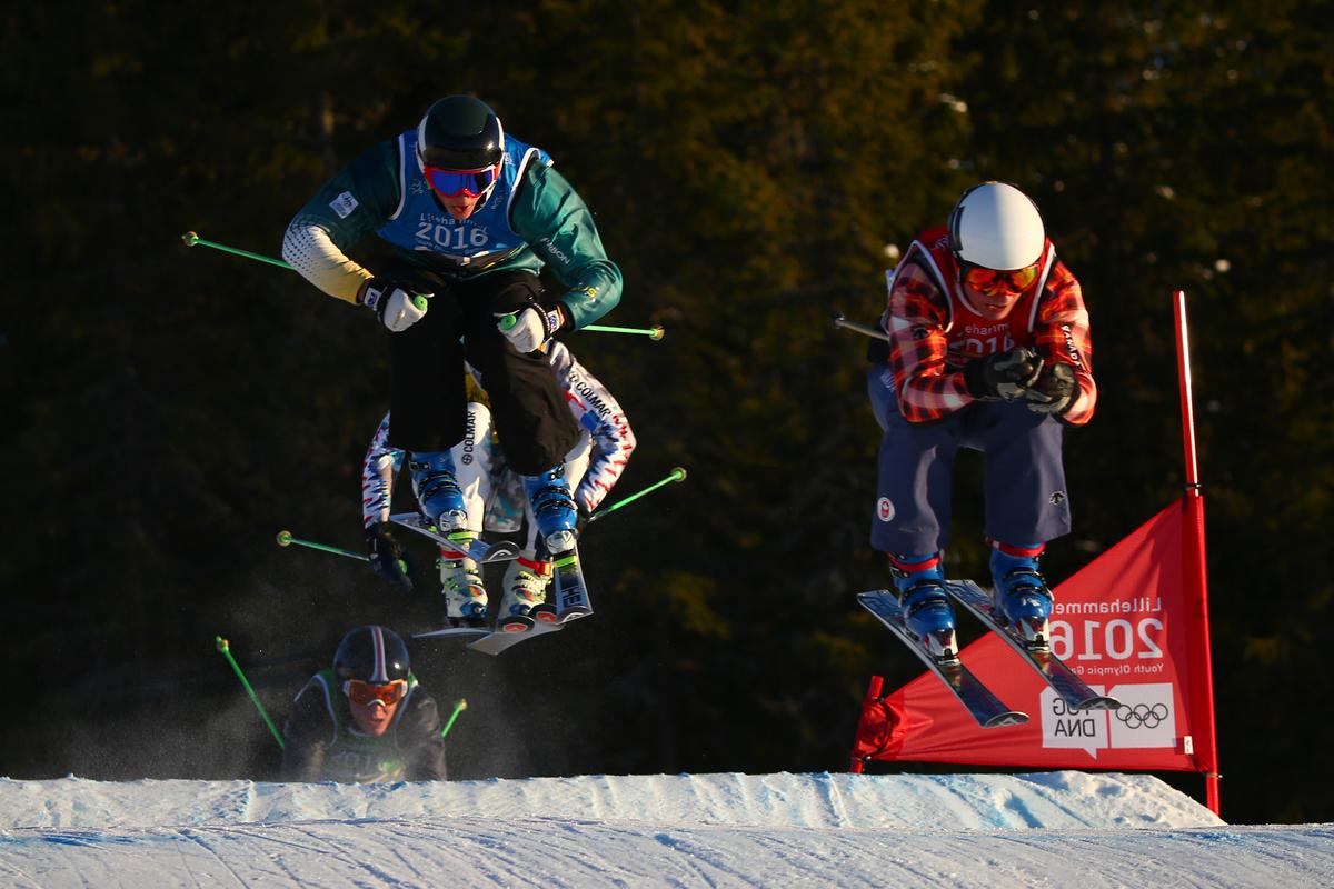 Vercammen in ogenschijnlijk kansloze laatste positie in de finale, maar dat liep even anders (Foto: YIS/Simon Bruty)