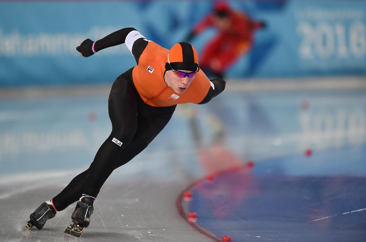 Baks op weg naar de eerste Nederlandse medaille tijdens Lillehammer 2016 (Foto: YIS/Thomas Lovelock)