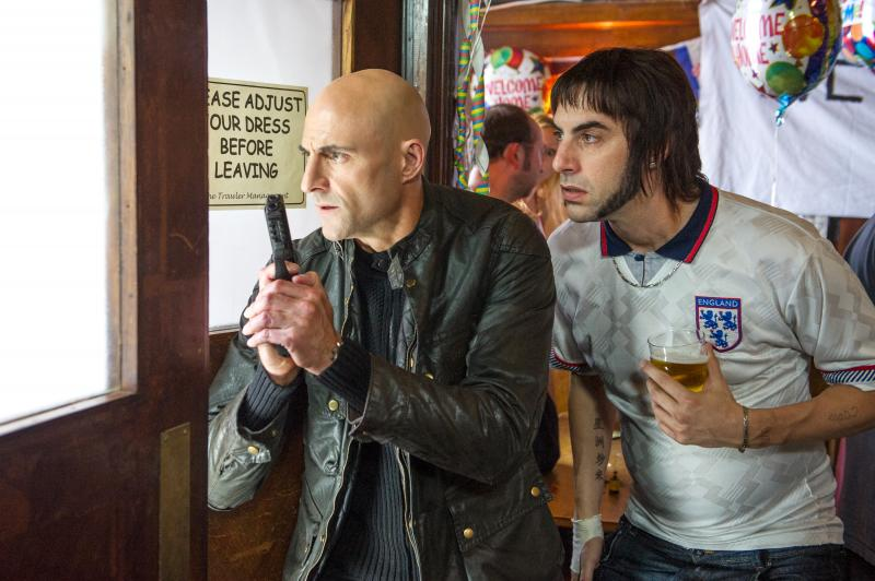 Grimsby: Mark Strong en Sacha Baron Cohen