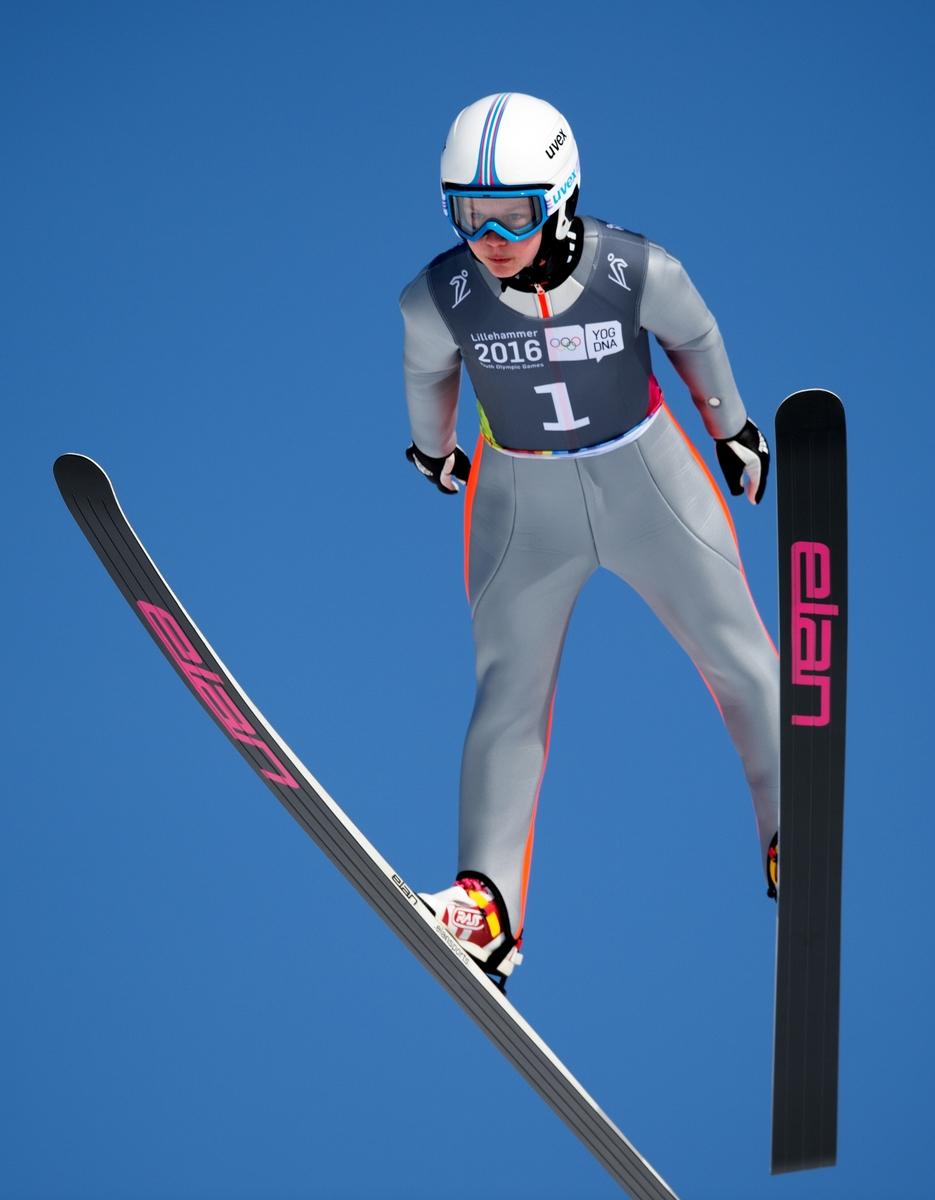 Klimec springt zoals verwacht naar het goud in Lillehammer (Foto: YIS/Bob Martin)