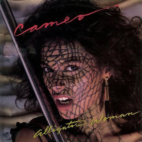 Vanity op de hoes van het album Alligator Woman van Cameo