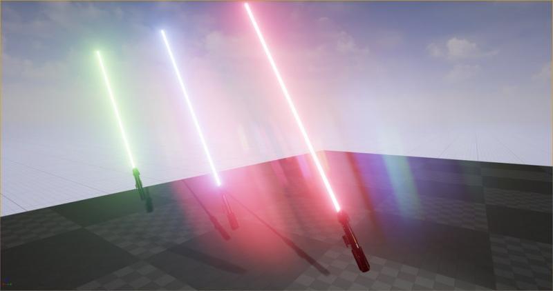Lightsaber prototypes