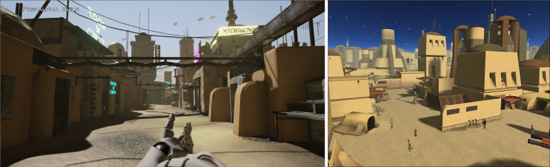 Oude Tattooine vs. nieuwe Tattooine