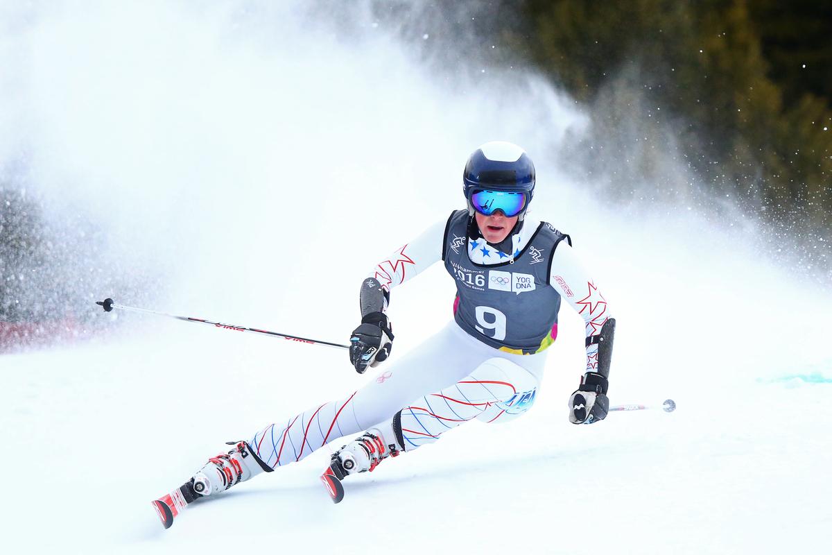 Radamus domineert het alpineskiën op de Spelen in Lillehammer (Foto: YIS/Simon Bruty)