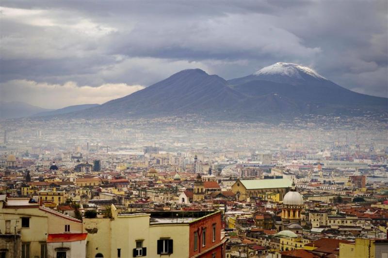 Cocaïnelab op de Vesuvius