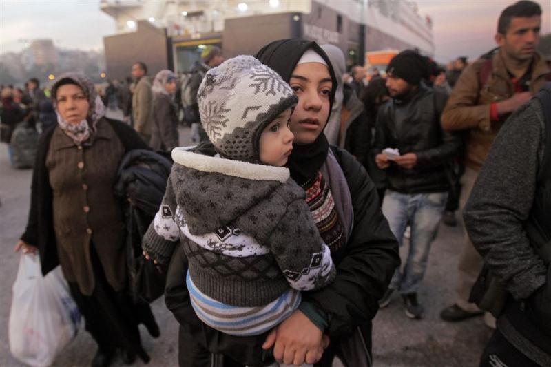 Sterke afname asielzoekers Griekenland