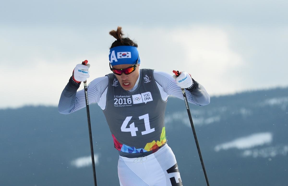 Kim Magnus en zijn staartje op weg naar nog een gouden medaille (Foto: YIS/Jon Buckle)