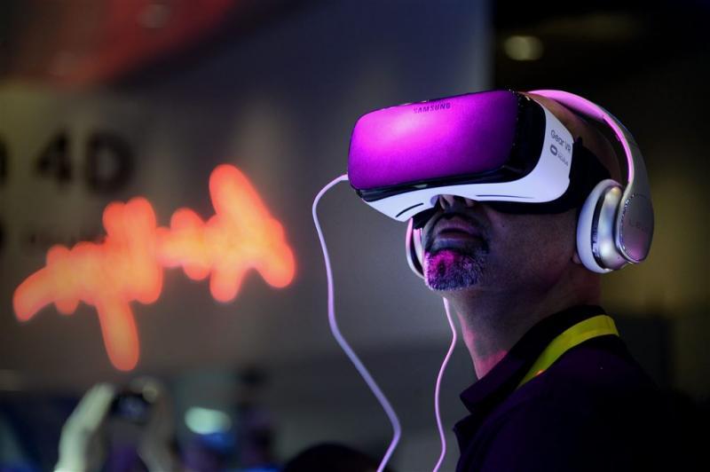 Presentatie Samsung Galaxy S7 in VR