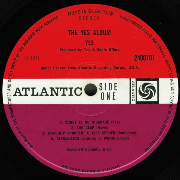 Yes - The Yes Album A