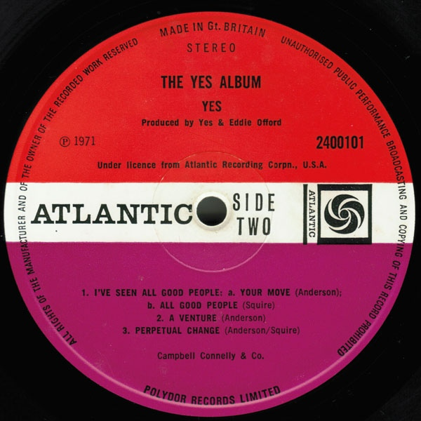 Yes - The Yes Album B