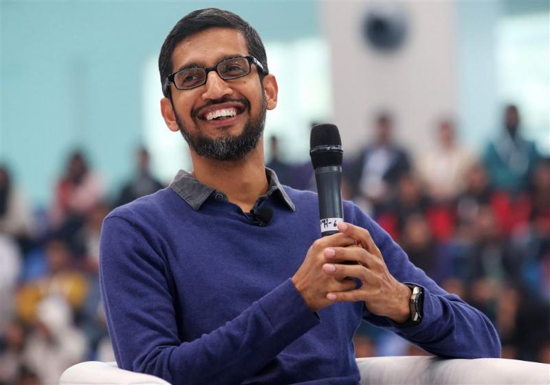 'Topman Google spreekt met eurocommissaris'