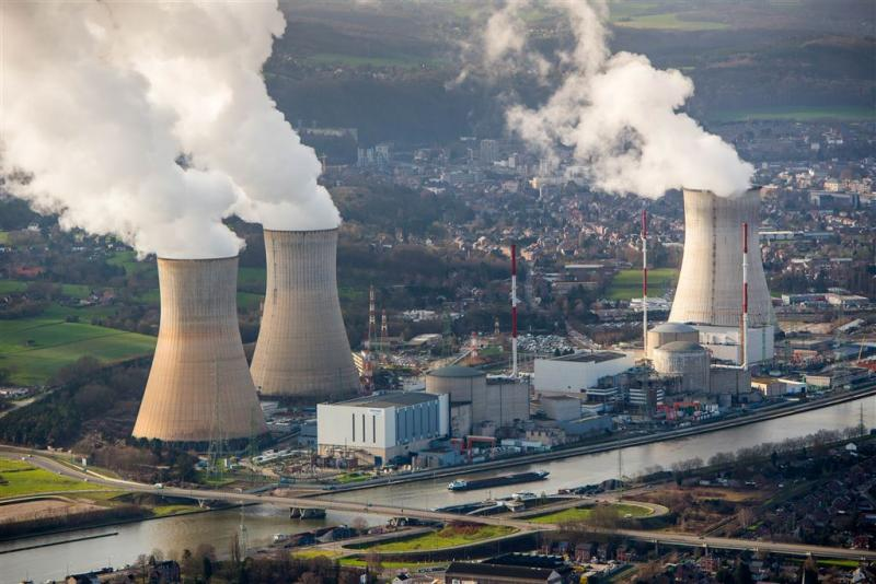 Kernreactor Tihange ligt stil